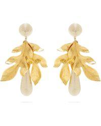 Rebecca de Ravenel - Violetta 14kt Gold Plated Earrings - Lyst