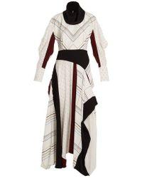 ROKSANDA - Tulla Checked Silk-crepe Dress - Lyst
