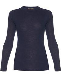 Proenza Schouler - Open-back Long-sleeved Knit Jumper - Lyst