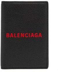 Balenciaga - Everyday Leather Passport Holder - Lyst