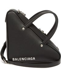 Balenciaga Triangle Duffle Bag Xs Black