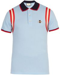5288f0aaf Men's Gucci Polo shirts On Sale - Lyst
