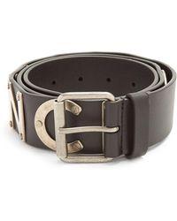 Balenciaga   Logo-embellished Leather Belt   Lyst