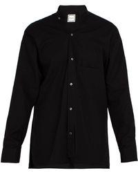 Wooyoungmi - Slit-hem Cotton Shirt - Lyst