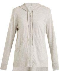 Skin | Faeylin Stretch-cotton Hooded Sweatshirt | Lyst