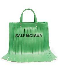 Balenciaga - Laundry Fringes Xs Bag - Lyst