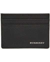 Burberry - Grained-leather Cardholder - Lyst