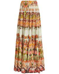 Camilla - Samba Salada Tiered Maxi Skirt - Lyst