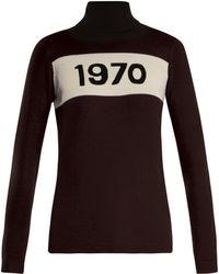 Bella Freud - 1970 Wool Roll-neck Jumper - Lyst