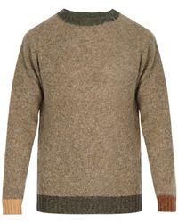 Howlin' By Morrison - Contrast Trim Wool Sweater - Lyst