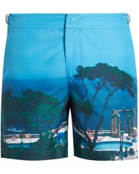 Orlebar Brown | Bulldog Photographic Mid-length Swim Shorts | Lyst