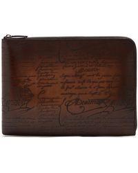 Berluti - Nino Leather Document Holder - Lyst