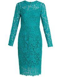 Dolce & Gabbana - Cordonetto Lace Dress - Lyst