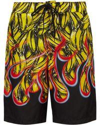 03a2126650 Lyst - Prada - Elasticated Waistband Swim Shorts - Men - Nylon ...