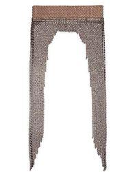 Gucci - Crystal-embellished Tassel Headband - Lyst