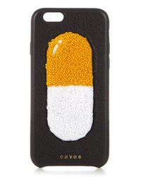 Chaos - - Pill Leather Iphone® 6 Case - Womens - Black Multi - Lyst