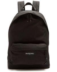 Balenciaga - Explorer Coated Canvas Backpack - Lyst
