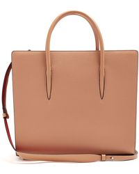 Christian Louboutin - Paloma Large Leather Tote - Lyst
