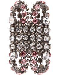 Gucci - Crystal Embellished Cuff - Lyst