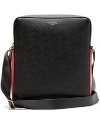 Thom Browne - - Contrast Panel Grained Leather Camera Bag - Mens - Black - Lyst