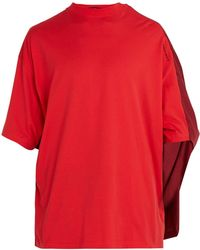 Y. Project - Double Layered Cotton T Shirt - Lyst