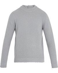 Craig Green - Pull en maille de laine mélangée à col ras du cou - Lyst