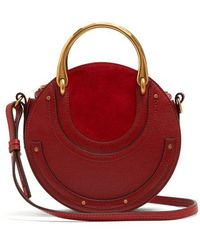 Chloé - Pixie Small Leather And Suede Cross-body Bag - Lyst