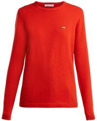 Bella Freud - Round Neck Cashmere Sweater - Lyst