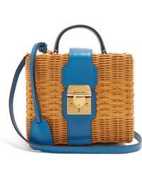 Mark Cross - X Hvn Harley Small Wicker Basket Bag - Lyst