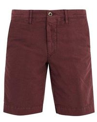 Incotex - Mid-rise Chino Shorts - Lyst