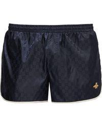 Gucci - Gg Quick Drying Swim Shorts - Lyst