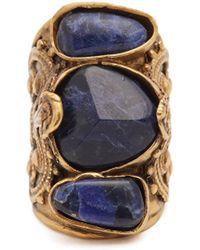 Etro - Engraved Stone-embellished Ring - Lyst