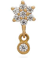 Maria Tash - Diamond & Yellow-gold Single Earring - Lyst
