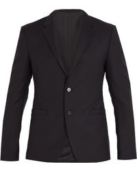 Wooyoungmi - Single-breasted Wool And Mohair-blend Blazer - Lyst