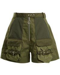 Marques'Almeida - Patch Pocket High Rise Shorts - Lyst