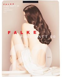 Falke - Invisible Deluxe 8 Hold Ups - Lyst