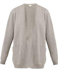 Hanro - Patch Pocket Wool Cardigan - Lyst