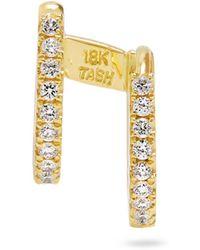 Maria Tash - Diamond & Yellow-gold Earring - Lyst