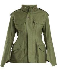 Junya Watanabe - Stand-collar Cotton Military Jacket - Lyst