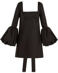 Valentino - Off Shoulder Cutout Mini Dress - Lyst