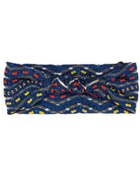 Missoni - Zigzag Knit Headband - Lyst