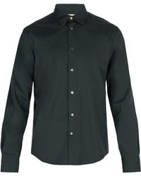 Paul Smith - Single Cuff Stretch Cotton Shirt - Lyst