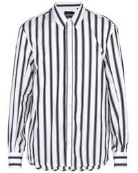 JOSEPH - Jean Marc Striped Cotton Shirt - Lyst