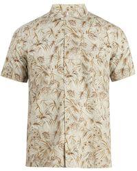 Glanshirt | Jake Floral-print Cotton Shirt | Lyst