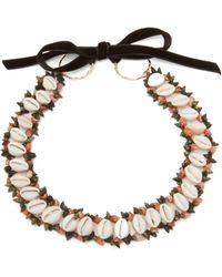 Heimat Atlantica - Sybile Shell Choker Necklace - Lyst