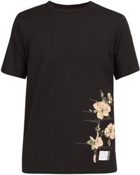 Loewe - X Charles Rennie Mackintosh Printed Cotton T Shirt - Lyst