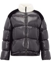 Moncler - Chouelle Logo Print Quilted Down Jacket - Lyst