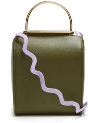 ROKSANDA - Besa Top Handle Leather Shoulder Bag - Lyst