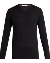 Adam Lippes - V-neck Wool Sweater - Lyst