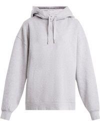 Acne Studios - Yala Cotton Jersey Hooded Sweatshirt - Lyst